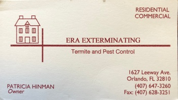 **** ERA Exterminating, Inc. - Bronze Partner