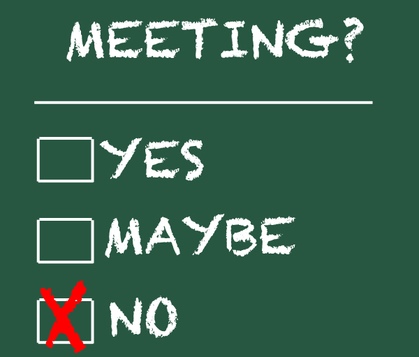 no-meeting