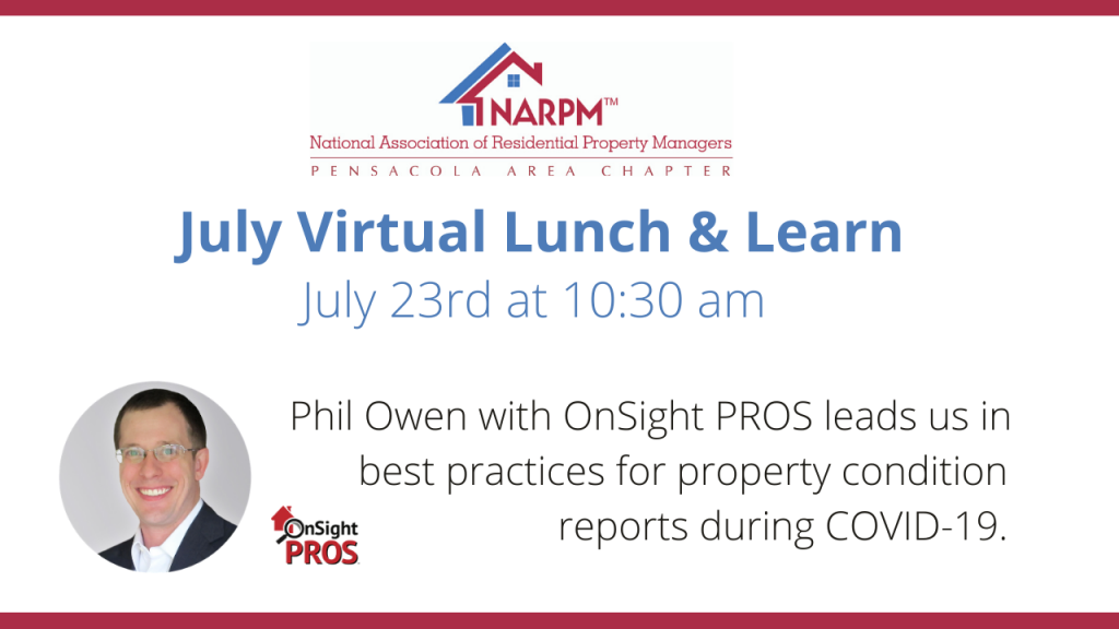 July Virtual Lunch & Learn